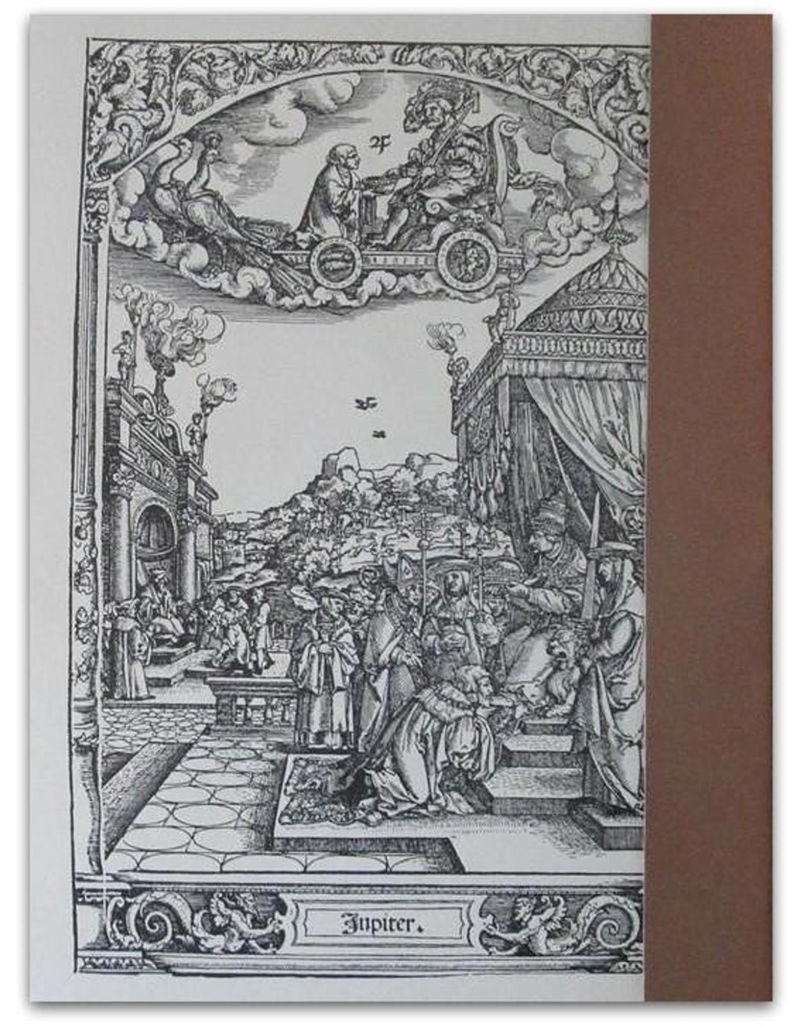 [Hans Sebald Beham] - Saturnus [Set met 7 reproducties van houtsneden]