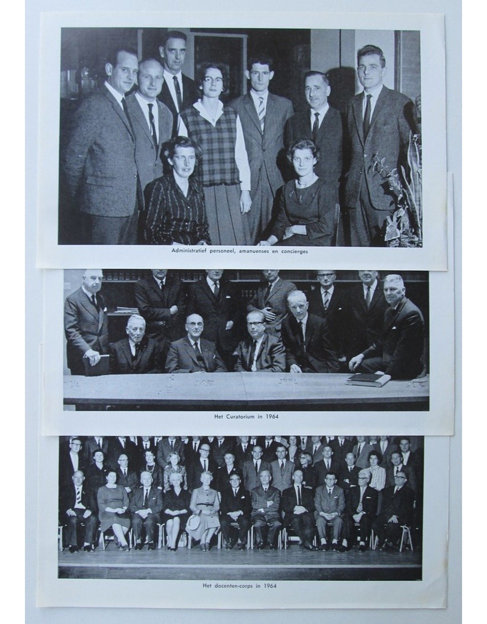 G.J.D. Aalders - Fata et Facta van het Christelijk Lyceum te Arnhem van 1939-1964. [...] Typografisch verzorgd door Gerard Unger