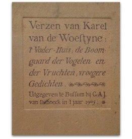 Karel van de Woestijne Verzen - 1905