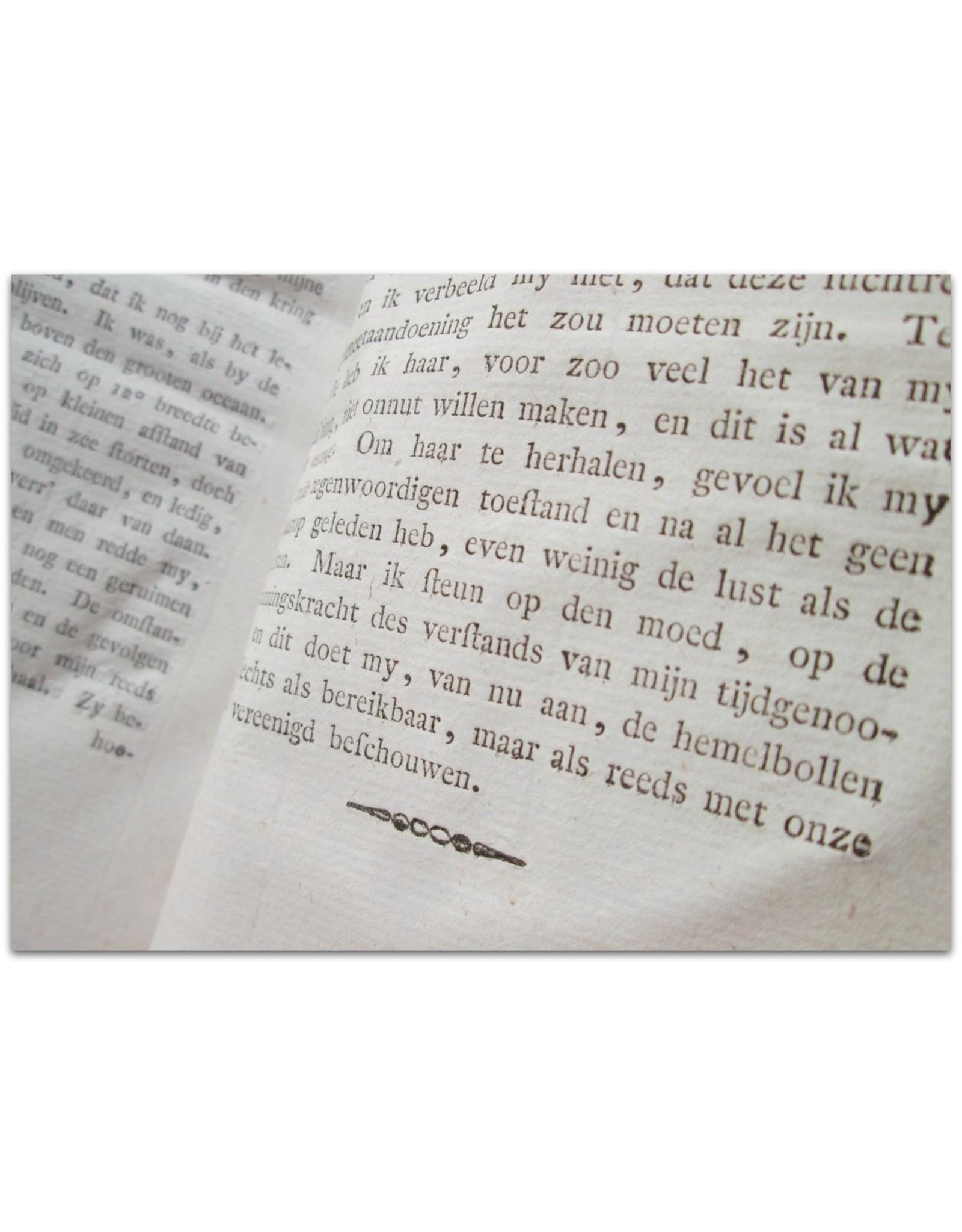 Willem Bilderdijk - Kort verhaal van eene aanmerkelijke Luchtreis en Nieuwe Planeetontdekking. Uit het Russisch vertaald