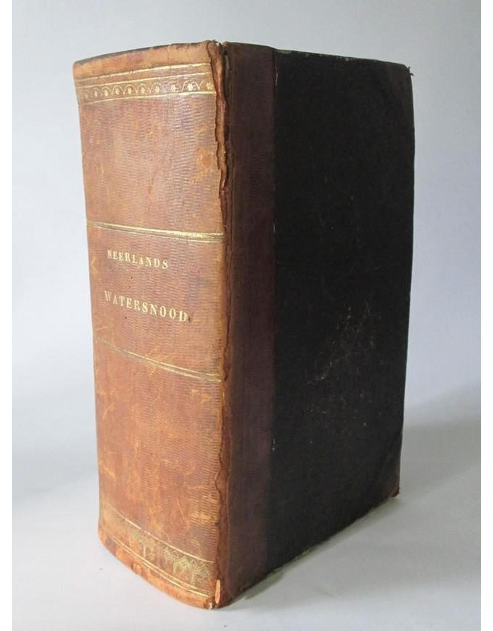 J.C. Beijer - Gedenkboek van Neerlands Watersnood in Februarij 1825