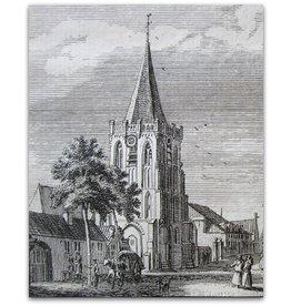H. Spilman - Kasteel / Dorp te Boksmeer 1741