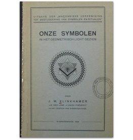 J.M. Klinkhamer - Onze symbolen  - 1924