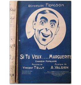 Harry Fragson - Si tu veux...Marguerite - 1900
