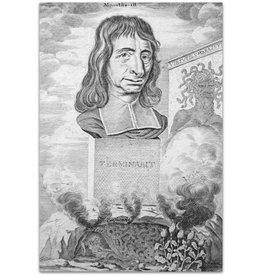 Joh. Hilarides - [Portret van Balthasar Bekker] - 1698