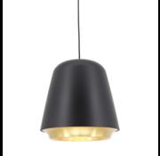 Artdelight Hanglamp Santiago - Zwart/Goud