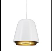 Artdelight Hanglamp Santiago - Wit/Goud