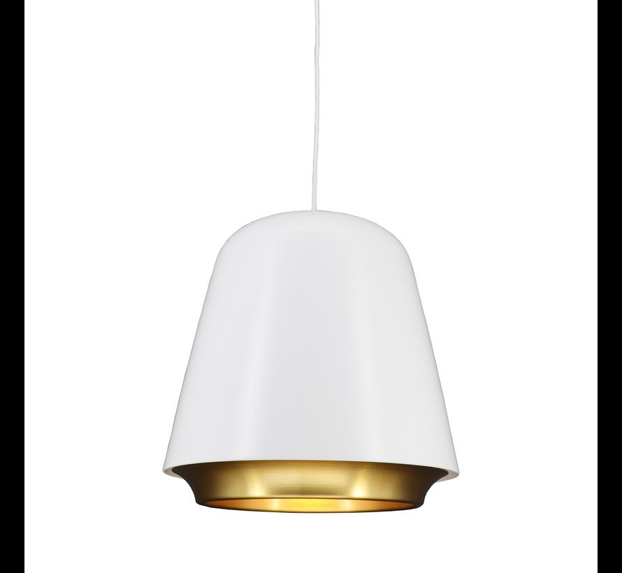 Hanglamp Santiago - Wit/Goud