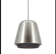 Artdelight Hanglamp Santiago - Mat Staal/Zwart