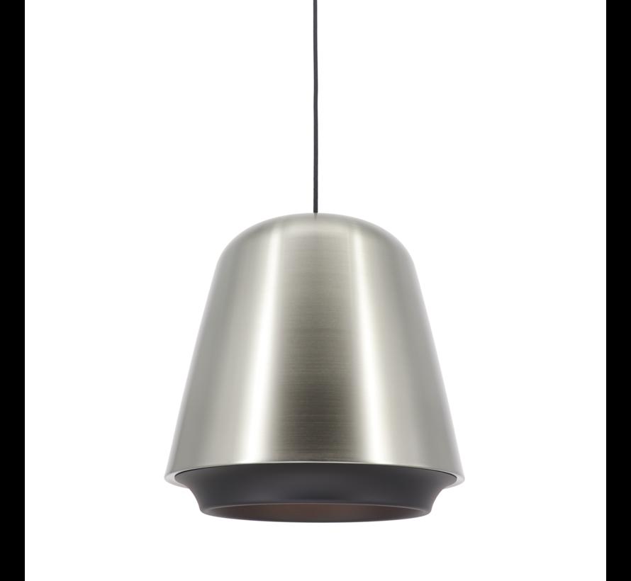 Hanglamp Santiago - Mat Staal/Zwart