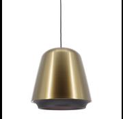 Artdelight Hanglamp Santiago - Brons/Zwart