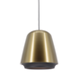 Hanglamp Santiago - Brons/Zwart