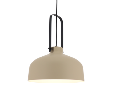 Artdelight Hanglamp Mendoza - Kaki/Zwart