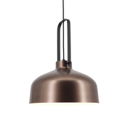 Artdelight Hanglamp Mendoza - Bruin/Zwart