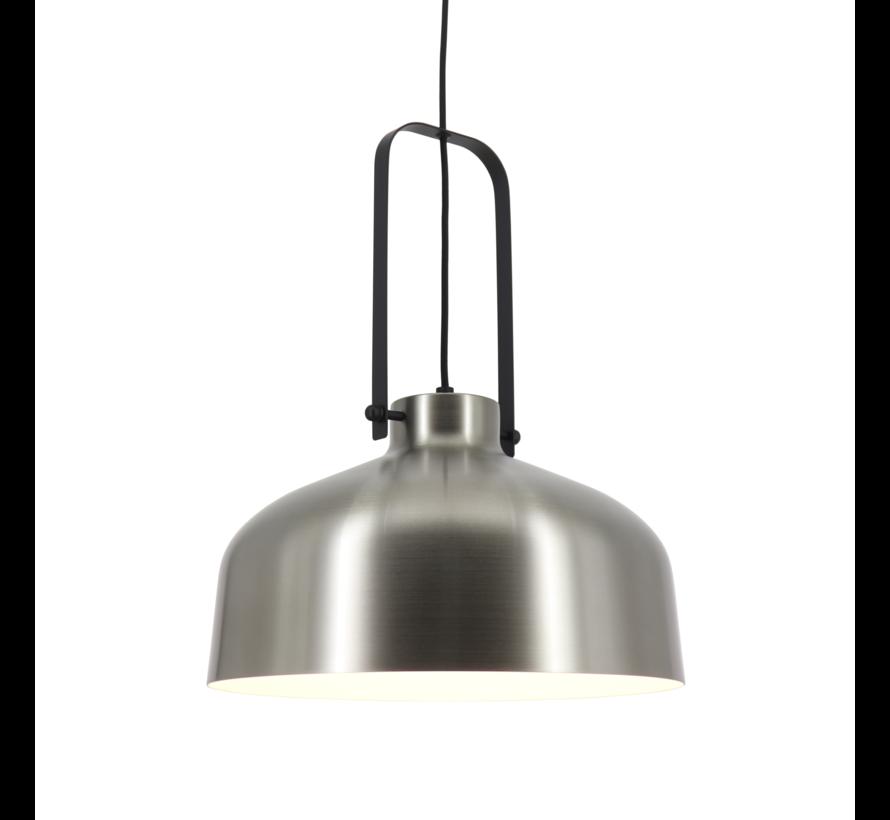 Hanglamp Mendoza - Mat Staal/Zwart