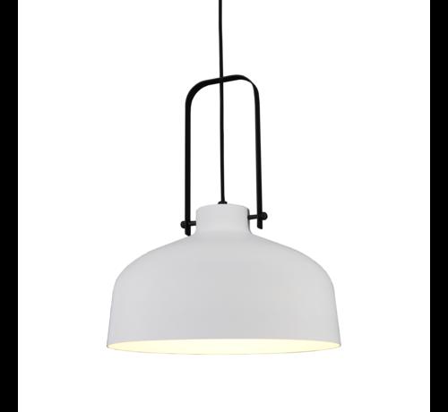 Artdelight Hanglamp Mendoza - Wit/Zwart