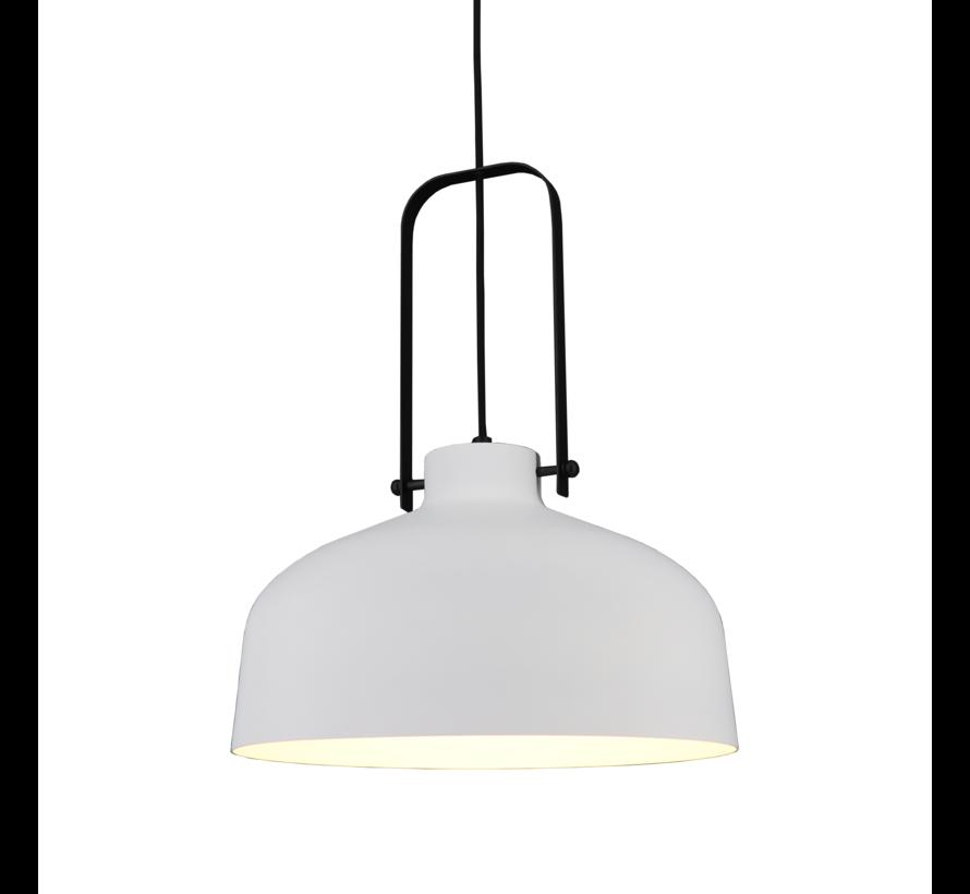 Hanglamp Mendoza - Wit/Zwart