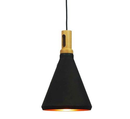 Artdelight Hanglamp Cornet A - Zwart