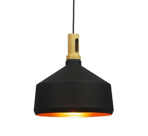 Artdelight Hanglamp Cornet B - Zwart