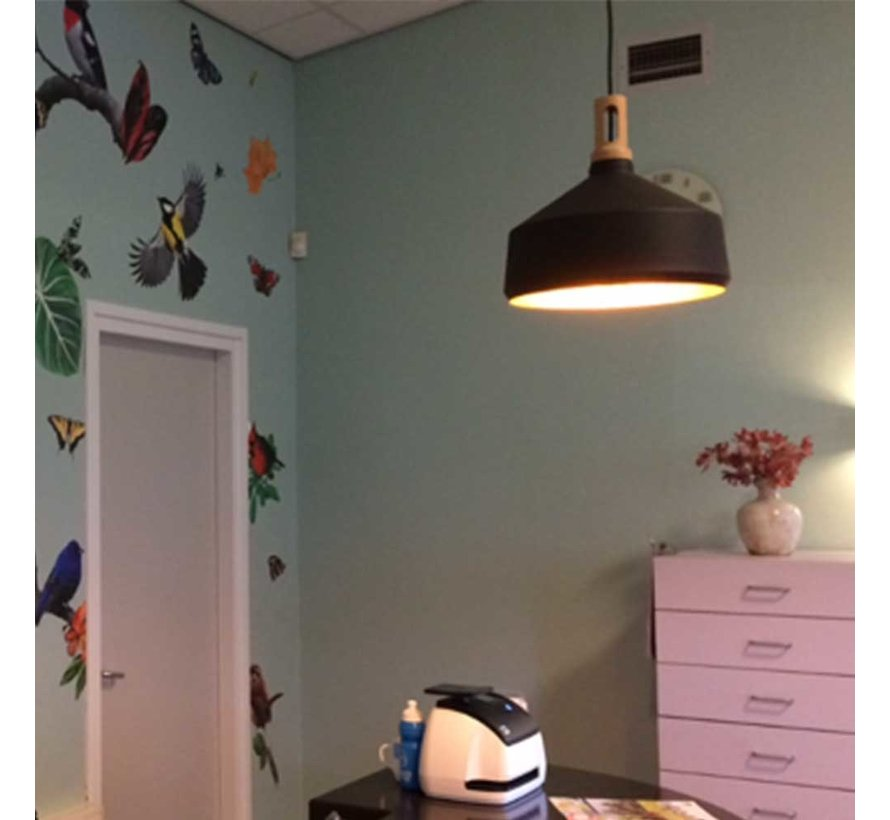 Hanglamp Cornet B - Zwart