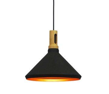 Artdelight Hanglamp Cornet C - Zwart
