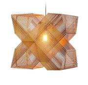 Het Lichtlab Hanglamp No.41 Angles - Hout