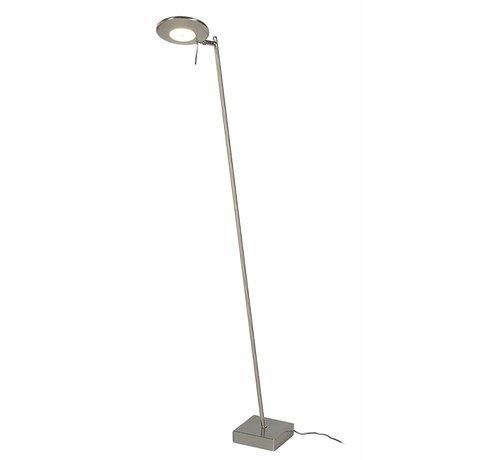 Artdelight Vloerlamp Balano - Mat Staal