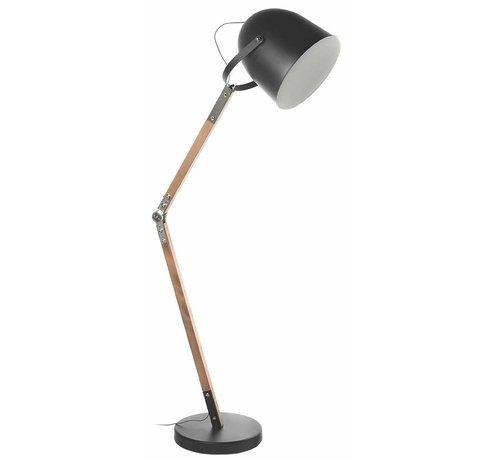 Artdelight Vloerlamp Cooper - Zwart