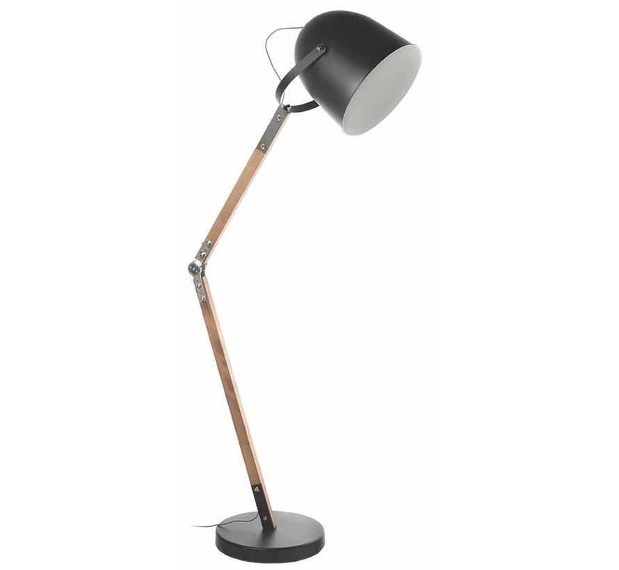 Vloerlamp Cooper - Zwart