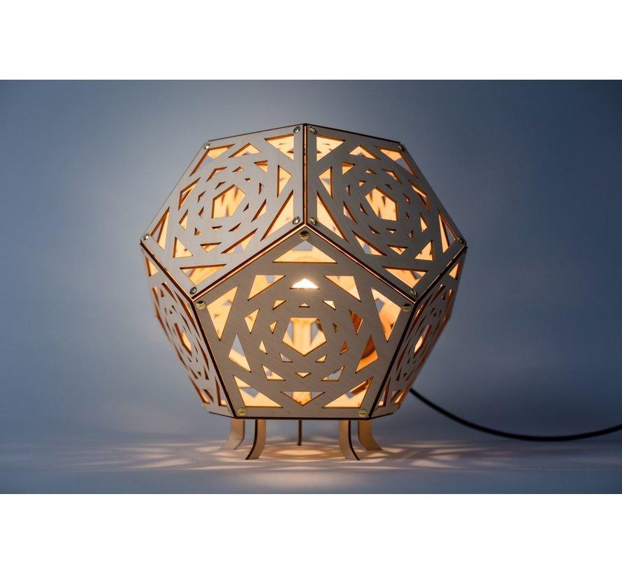 Tafellamp No. 34 - Dodecaheader