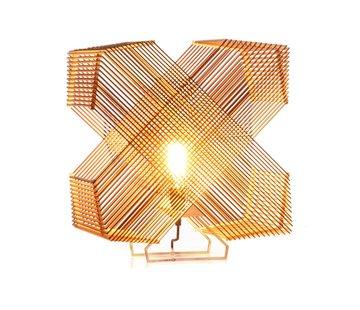 Het Lichtlab Tafellamp No. 41 Angles - Hout