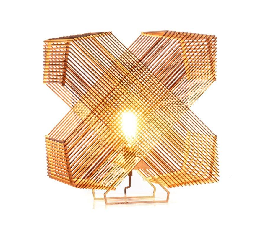 Tafellamp No. 41 Angles - Hout