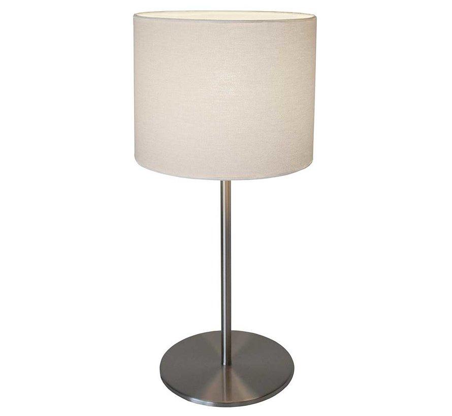 Tafellamp Vigoro - Mat Staal
