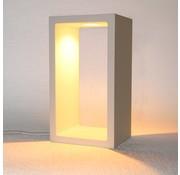 Artdelight Tafellamp Corridor - Wit