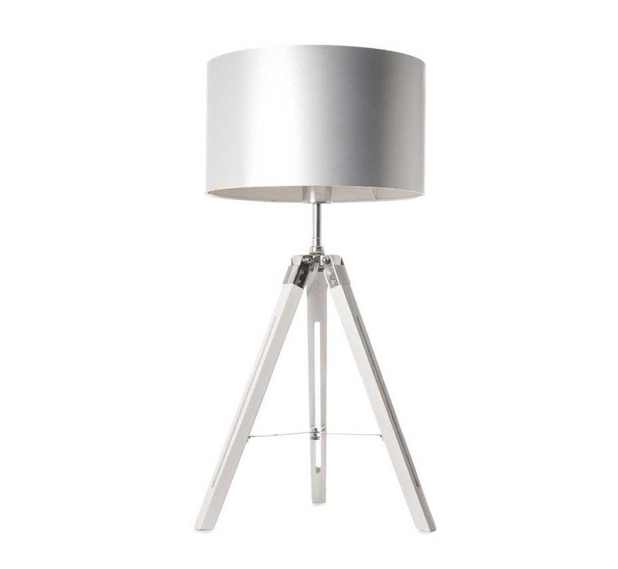 Tafellamp Jewel - Wit/Chroom