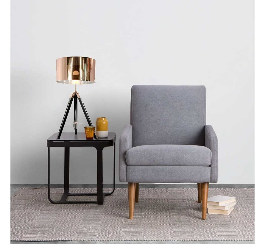 Tafellamp Jewel - Zwart/Koper