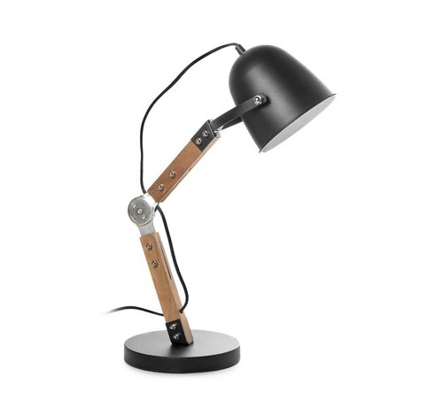 Artdelight Tafellamp Cooper - Zwart
