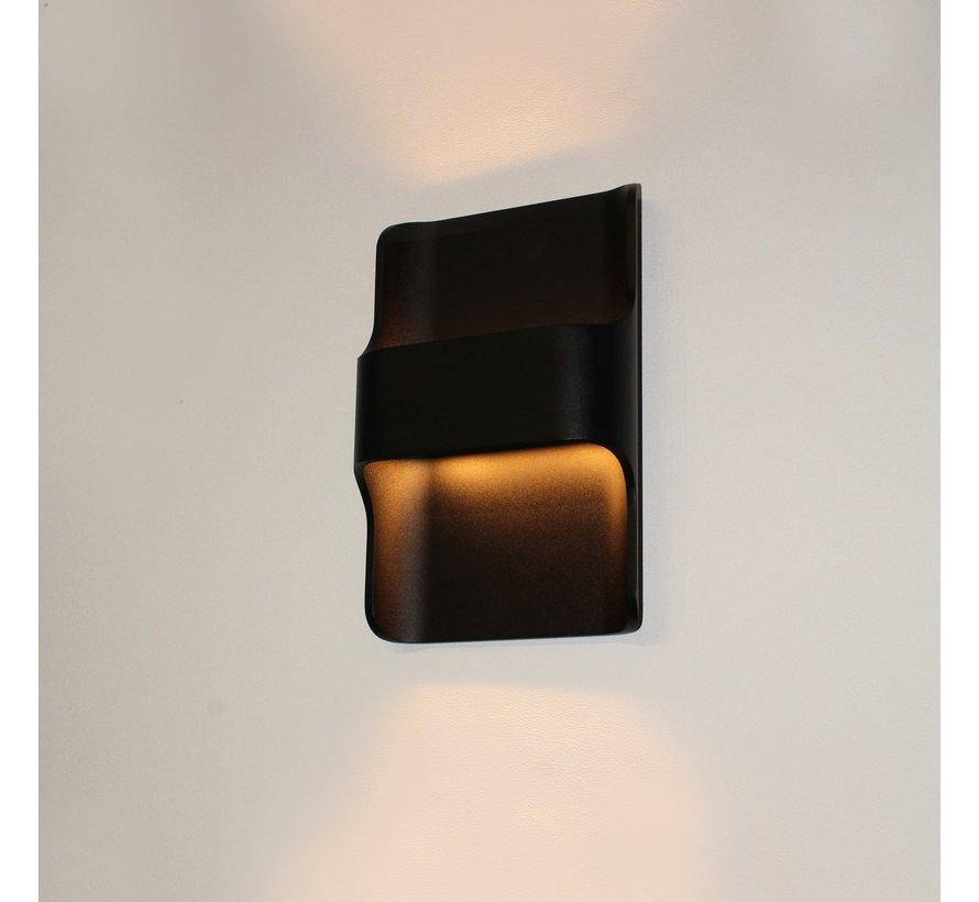 Wandlamp Dallas - Zwart
