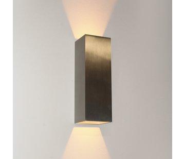 Artdelight Wandlamp Vegas 250 - Aluminium