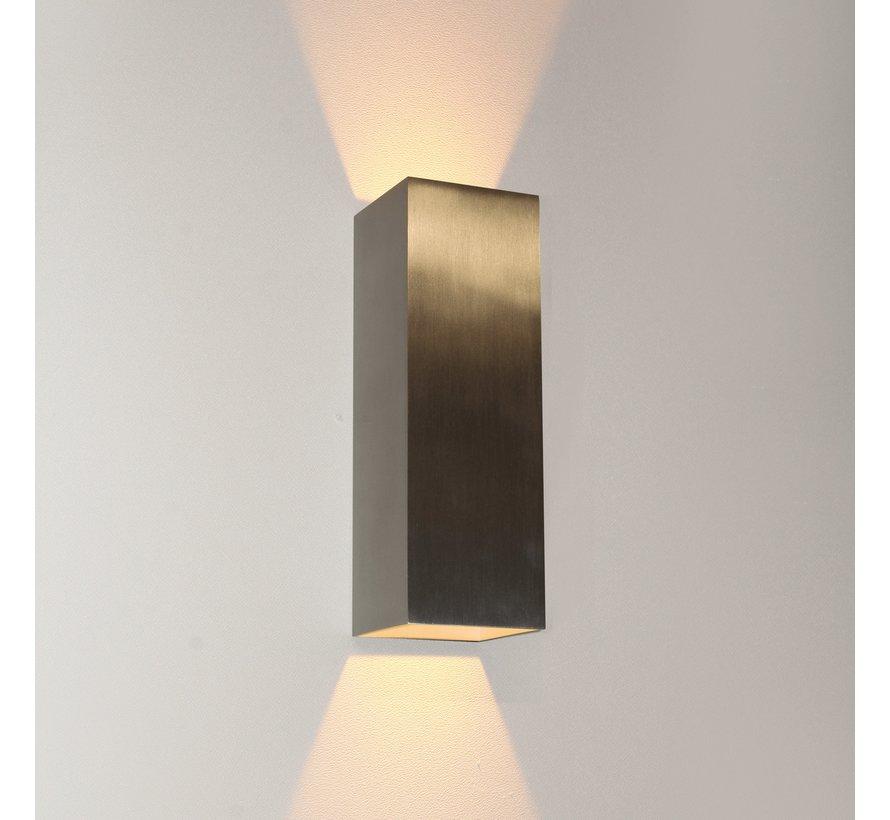 Wandlamp Vegas 250 - Aluminium