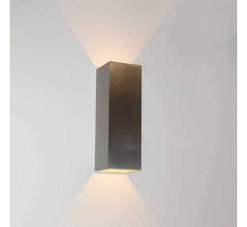 Artdelight Wandlamp Vegas 150 - Aluminium