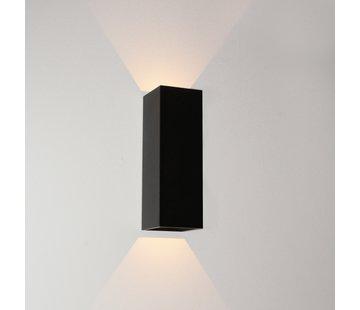 Artdelight Wandlamp Vegas 150 - Zwart