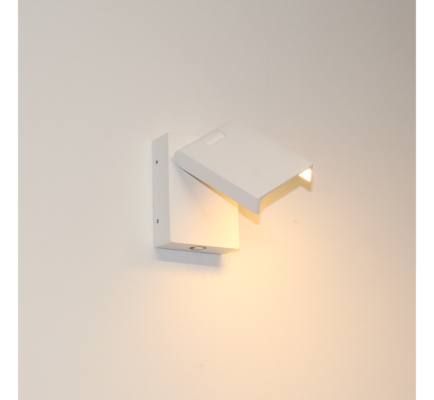 Wandlamp Kapo - Wit