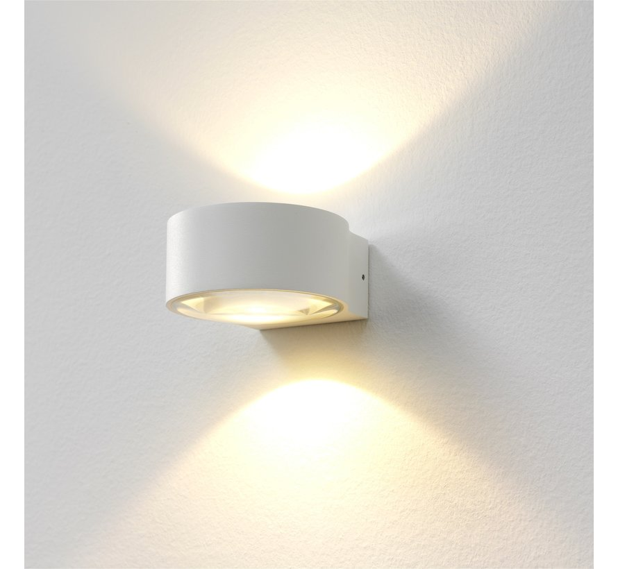 Wandlamp Hudson - Wit