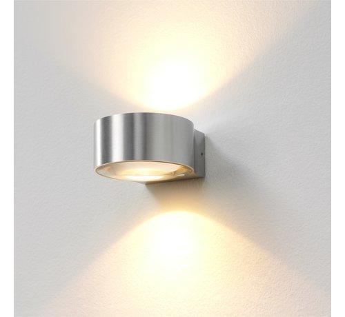 Artdelight Wandlamp Hudson - Aluminium
