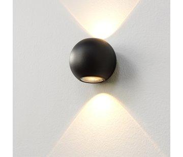 Artdelight Wandlamp Denver - Zwart