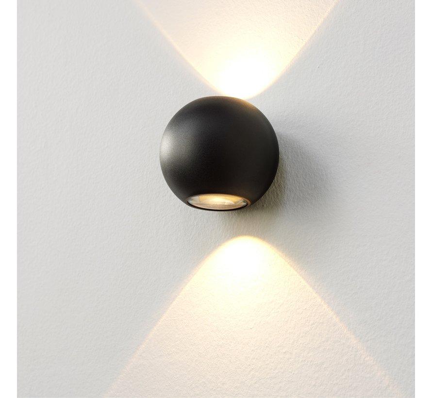 Wandlamp Denver - Zwart