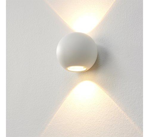 Artdelight Wandlamp Denver - Wit