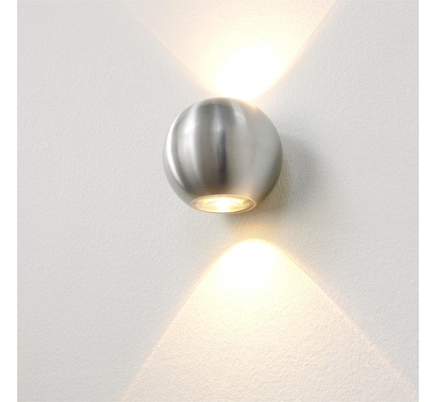 Wandlamp Denver - Aluminium