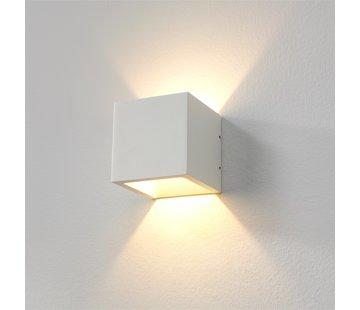 Artdelight Wandlamp Cube - Wit